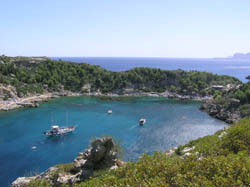 Anthony Quinn Bay in Rhodos Island Dodecanese Sailing in GREECE