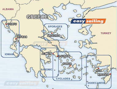 Sailing guide in the Greek islands