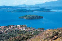 Nydri and Scorpios Islets Sailing in the Ionian Paradise