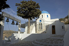 Sightseeing and yacht holidays in Paros Island Cyclades Greece
